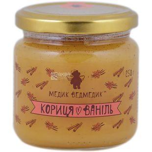 Медик-Ведмедик, Мед кориця-ваніль, 250 г