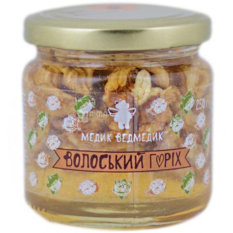 Медик-Ведмедик, Мед волоський горіх, 250 г