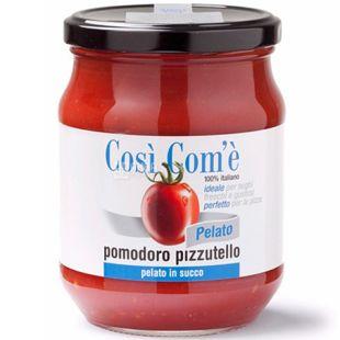 Cosi' Com'e' Pizzutello, Томати очищені у власному соку, 540 г