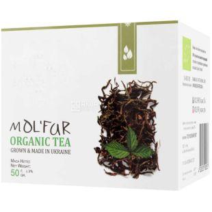 MOL'FAR, Кипрейный с листьями малины, 50 г, Чай Мольфар, органический