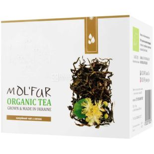 MOL'FAR, Кипрейный с цветом липы, 50 г, Чай Мольфар, органический