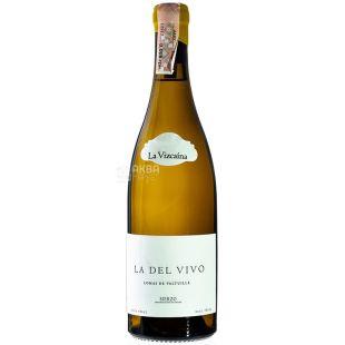 Raul Perez La Del Vivo 2015, Вино белое сухое, 0,75 л
