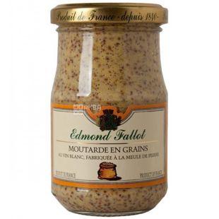 Edmond Fallot, Dijon Mustard with Walnut, 210 g