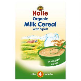 Holle, Каша молочная злаковая с спельтой, органическая (с 4 месяцев), 250 г