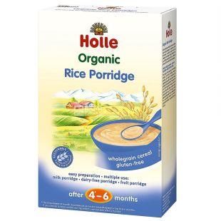 Holle, Каша рисовая органическая (с 4-6 месяцев), 250 г