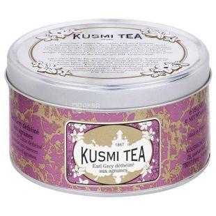 Kusmi Tea, Earl Grey, 125 г, Чай черний без кофеина Кусми Ти, Эрл Грей, цитрусы