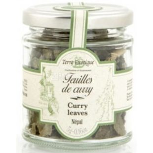 Terre Exotique, Curry leaves from Nepal, 5 g
