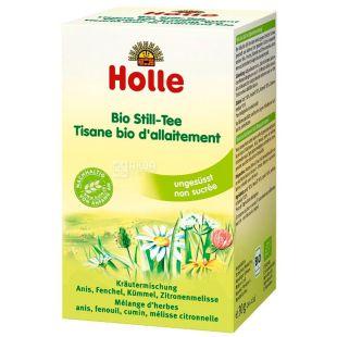 Holle, Для кормящих мам, 20 пак.,Чай Холле, травяной, органический
