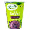 Sojade So Soya Blueberry Organic, 400 г, Сояде, Йогурт соєвий органічний, чорниця, без глютену і лактози
