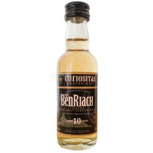 BenRiach 10yo Curiositas, Виски односолодовый, 0,05 л