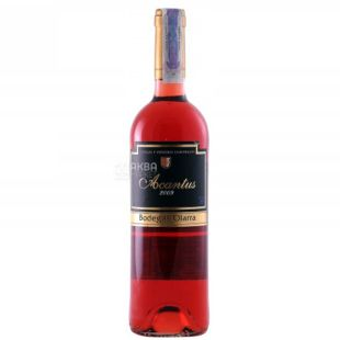 Bodegas Olarra, Acantus Rosado, Вино розовое сухое, 0,75 л