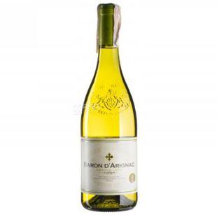 Baron d'Arignac, Blanc, Вино белое сухое, 0,75 л