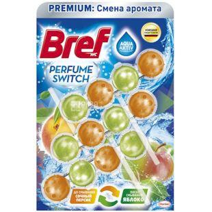 Bref, Туалетний блок для унітазу, Персик Яблуко, 150 г