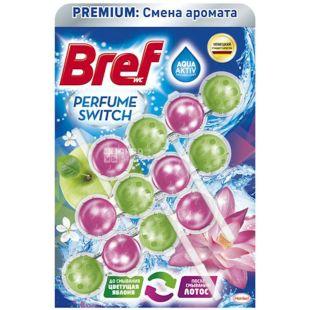 Bref, Яблуко Лотос, Туалетний блок для унітазу, 150 г