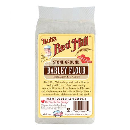 Bob's Red Mill, Rye Flour, 0,624 кг, Мука Бобс Ред Милл, ржаная, органическая