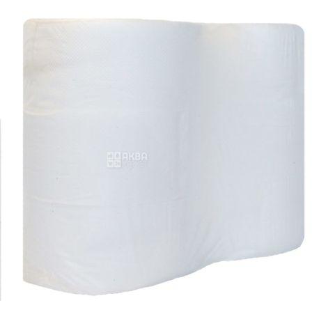 Bima Jumbo, 6 рул., Туалетная бумага Бима Джамбо, 2-х слойная, 180 м