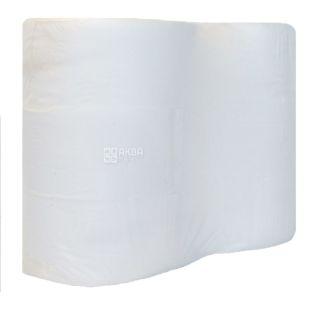 Bima Jumbo, White Double Layer Toilet Paper, 180 m, 6 Rolls