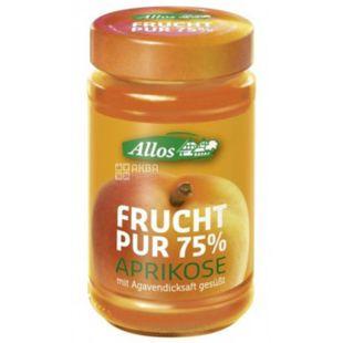 Allos, Джем абрикосовый, органический, 250 г