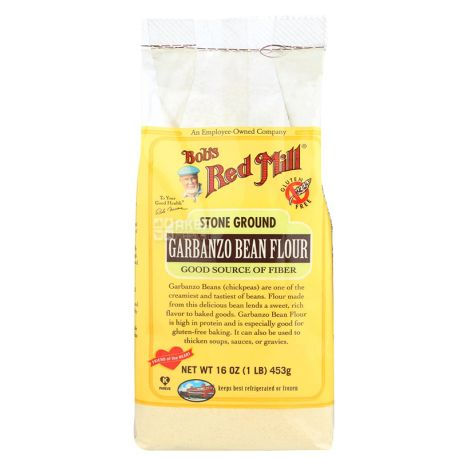Bob's Red Mill, Chickpea Flour, Gluten-Free, 453 g