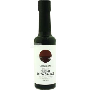 Clearspring, Соус соєвий для суші органічний, 150 мл