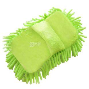 EcoKraft, 15х22 см, Щітка-рукавиця, Для миття автомобіля