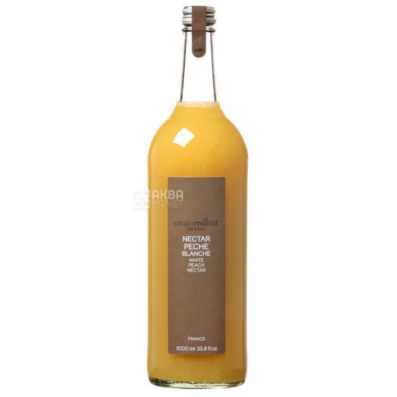 Alain Milliat, Nectar, White Peach, 1 L