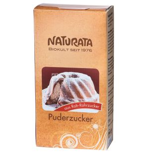 Naturata, Organic Sugar Powder, 200 g