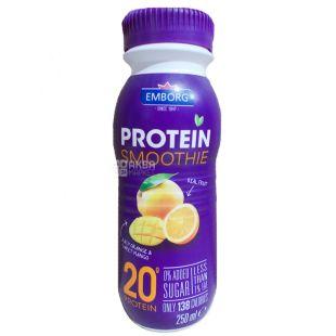 Emborg, Коктейль протеиновый Апельсин-Манго, 0,25 л