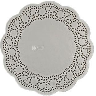 Серветка ажурна кругла, d-29, 100 шт
