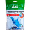 DOMI, Economic gloves with velvet coating L, 10 pcs.