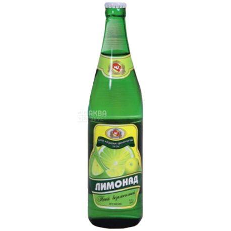 Черкаські Лимонади, Лимонад, 0,5 л, Напій газований, скло