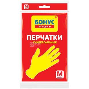Bonus, Rubber gloves, universal, size M