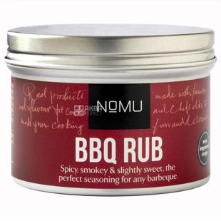 Nomu, Barbecue Spice Mix, 55 g