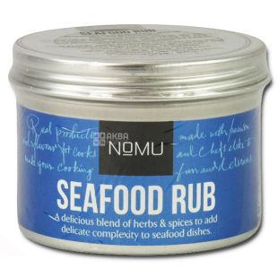 Nomu, Spice Blend for Seafood, 55 g