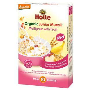 Holle, 250 г, Мюсли Холле, детские, органические, с фруктами, с 10 месяцев