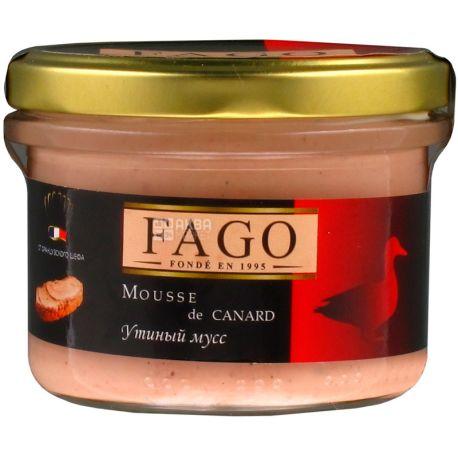 Fago, Мусс утиный, 180 г