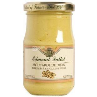 Edmond Fallot, Dijon Mustard, With Ginger Bread and Honey, 210 g