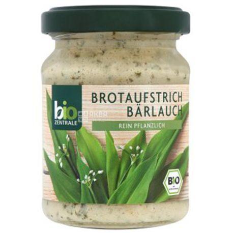 Bio Zentrale, Паста для бутербродів, З диким часником, Органічна, 125 г