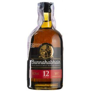 Bunnahabhain, Виски, 12 лет выдержки, 0,05 л