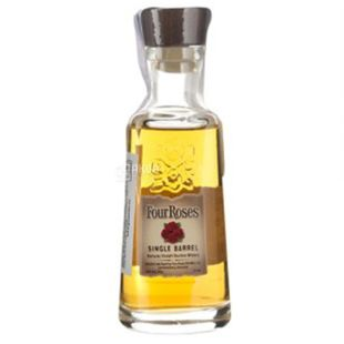 Four Roses Single Barrel, Whiskey bourbon, 0.5 l