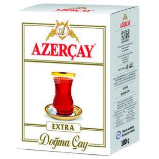 Azerçay Extra, 100 г, Чай Азерчай Екстра, чорний, середньолистовий
