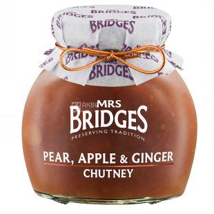 Mrs Bridges, Chutney pear, apple and ginger, 300 g