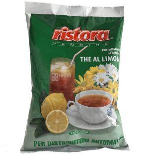 Ristora, Lemon, 1 кг, Чай Ристора, Черный с лимоном, растворимый