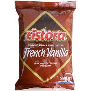Ristora, French Vanilla, 500 г, Ристора Френч Ванилла, Капучино, растворимый
