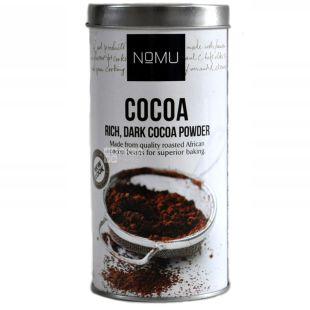 Nomu, Rich, Dark cоcоа powder, 150 г, Ному, Какао-порошок, горький, органический, тубус