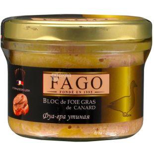 Fago, Фуа-гра утиная, 180 г