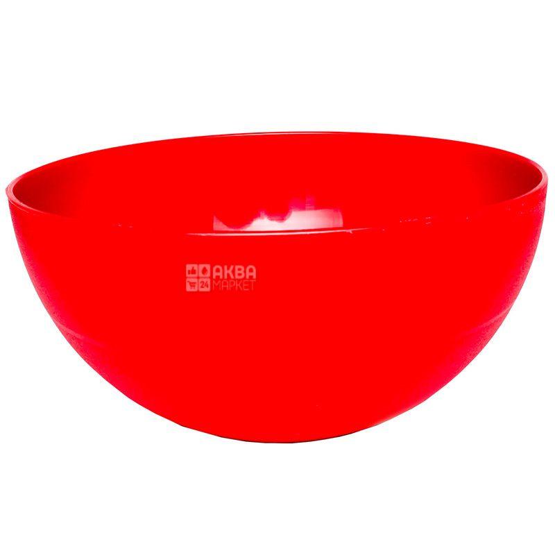 Hemoplast, Салатница пластиковая, Ассорти, 3,3 л