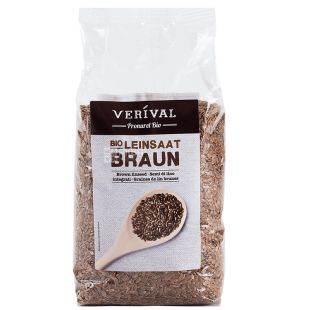 Verival, Organic Flax Seeds, 500 g