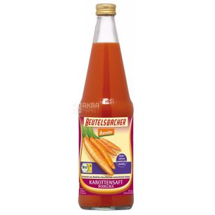 Beutelsbacher, Carrot Juice, Organic, 0.7 L