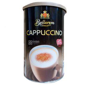 Bellarom, Cappuccino, 200 г, Белларом, Капучино, кофейный напиток, растворимый, тубус